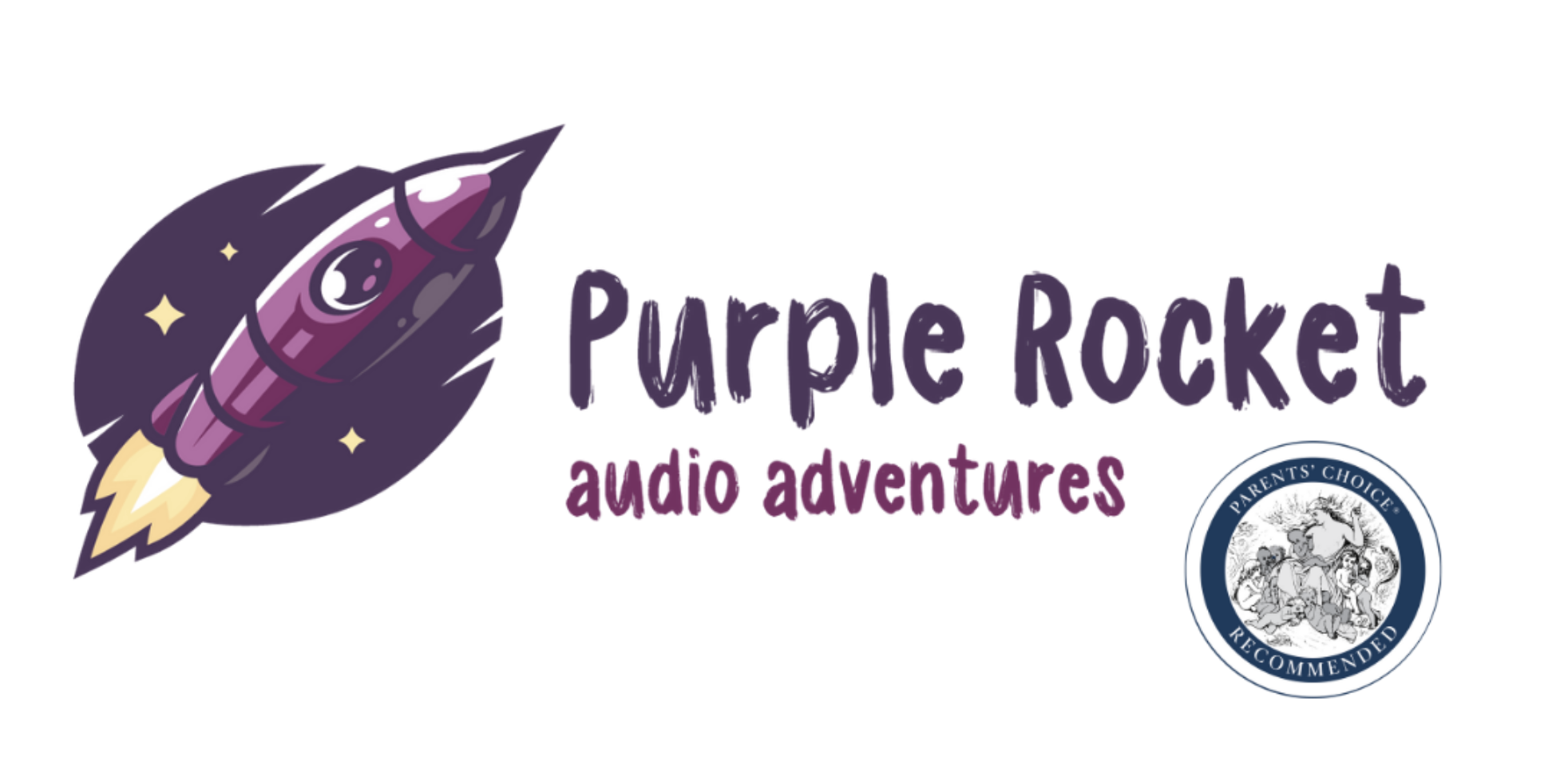 The purple rocket podcast for kids