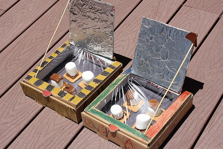 Summer-Science-Project-Idea-Solar-Oven-Smores
